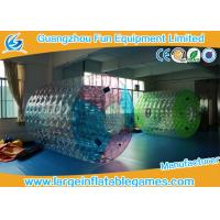 Quality Customized TPU Amazing Inflatable Water Roller Amusement Park Ball for sale