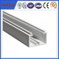 Buy YueFeng china factory white powder coated aluminium channel price per kg at wholesale prices