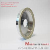 Quality 6A2 150D 10W W10 ceramic bonded diamond cutter grinding cup type high efficiency grinding wheel Alisa@moresuperhard.com for sale