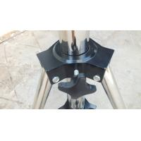 Buy 2m Height Black Follow Spot Stand For Hanging Audio , Lighting Truss Stands For Concert at wholesale prices