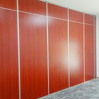 China Aluminium Frame Slid Cloth Compact Board Movable Partition Walls Decorative Louvered on sale