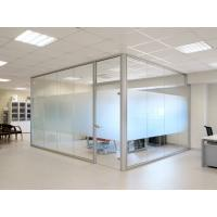 Buy cheap Interior Tempered Frosted Glass Partition for Bathroom Office Partiton from wholesalers