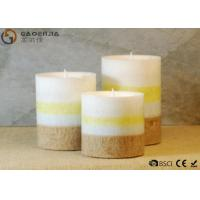 Buy gaoerjia lovely 3 Set Flameless Battery Operated LED Pillar Candles at wholesale prices