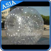 Quality Grass Used One Entrance Zorb Water Ball In 0.8mm Pvc For Rental Business for sale