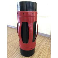 China Welded Elastic Spring Casing Centralizer , Simple Structure Casing Accessories for sale