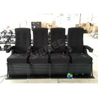 Quality 4D Cinema System Imax Movie Theater with Motion Chair 4 Seats for sale