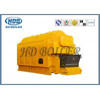 Quality Industrial Coal / Wood Fired Biomass Fuel Boiler , Wood Chip Steam Boiler for sale