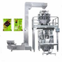 China Customized Flat bottom bag potato chips packaging machine price on sale