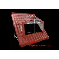 China Plastic roof tile making machine - Replace metal sheet on sale