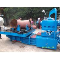 Electric Pipe Beveling Machine , Hydraulic Tee Forming Machine Processing Size 12