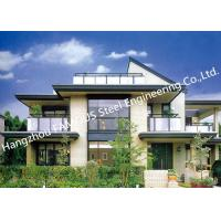 Quality Prefabricated Luxury Pre-Engineered Building Customized Steel Villa House for sale