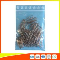 Quality Zip Seal Plastic Packing Ziplock Bags Resealable With Symbol Ree Line On The Flap for sale