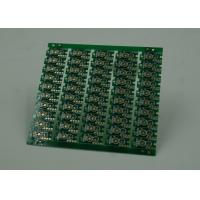 Quality Double Sided Prototype PCB Fabrication Gold Plating Finish Green Solder for sale