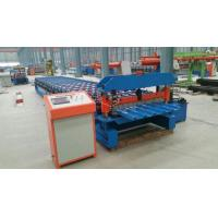 Quality Full Automatic Roof Tile Cold Roll Forming Machines Double Color Steel Roll Forming Machine for sale