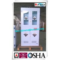 Quality Polypropylene Hazardous Material Storage Cabinets With Window For Laboratory / Chemical for sale