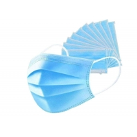 Quality Daily Wearing Face Nonwoven Disposable 3 Ply Earloop Mask for sale