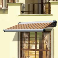 Buy Popular Window awnings outdoor balcony porch awning Sun Shade Aluminium Frame at wholesale prices