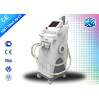 China Ipl Elight Rf Nd Yag / Laser Hair Removal Tattoo Removal Beauty Machine on sale