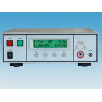 Quality Programmable AC DC Dielectric Voltage Withstand Test Equipment 5KV / 12mA for sale