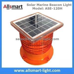 Quality 3NM Solar Powered LED Marine Beacon Lights Marine Lantern for Navigation Aquaculture Offshore Buoys Ports Harbors for sale