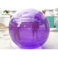 China 1.0mm PVC Colorful Inflatable Walk On Water Ball Water Walking Ball on sale