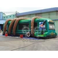 Buy Inflatable Jungle Bus Obstacle Game at wholesale prices