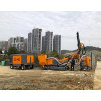 China Mobile Diesel Engine Portable Screw Air-Compressors 4 Wheels Screw Type Diesel Air Compressor for mining for sale