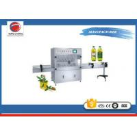 Quality Vegetable Oil Filling Machine , Essential Oil Filling Machine 1600 - 4000BPH for sale