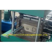 Quality Metal Stud And Track Roll Forming Machine , Steel Plate Rolling Forming Machines for sale