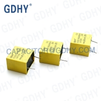 Quality Pitch 22.5mm 1uF 250VDC Plastic Film Capacitor for sale