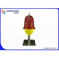 Buy cheap PC Lamp Body Material and IP65 IP Rating Obstruction lights AH-LI/B >10cd from wholesalers