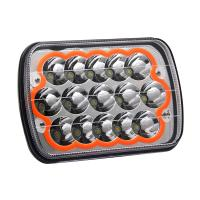 Buy cheap Square 5x7 Led Headlights 168 * 67 * 108 Mm Size With Breathing Hole from wholesalers