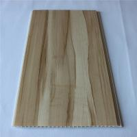China Waterproof Wood Plastic Composite Exterior Wall Cladding Interior Decoration on sale