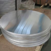 Quality Hot Rolled 1050 1.5MM Circular Aluminum Plate Aluminum Circle Blanks For Cookware for sale