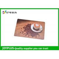 Quality Customized Color / Size Restaurant Table Mats , Square Table Placemats PP Material for sale