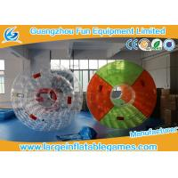 Quality Colorful Professional Inflatable Water Roller For Outside Pool Toys 2.7 * 2.4 * 1.8m for sale