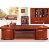 Buy cheap Luxury Boss Wooden Workstation Desk / Beautiful Hard Wood Executive Office Desk from wholesalers