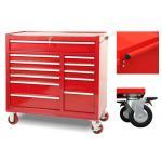 China Mechanic Metal Storage 42 Inch Tool Cabinet Heavy Duty Rigid 5 Inch * 2 Inch Wheels for sale