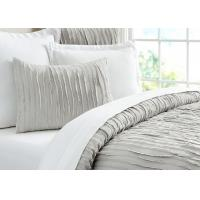 Buy Camille Ruched Solid Modern Bedding Sets Soft 4 Pcs With Different Size at wholesale prices