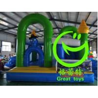 Quality 2016 hot sell  inflatable  bouncy castle with 24months warranty for sale