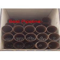 API 5L X52 X70 Spiral Welded Steel Pipe Double Submerged Arc Welding for sale