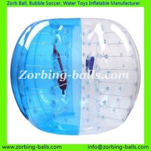 China Zorb Ball Soccer Bubble Body Zorbing Football Bumper Balls Bubble Suit Equipment on sale
