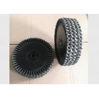 Quality Twisted Multilayer Wire Wheel Brush 12 Inch OD For Metal Tube Rust Removal for sale