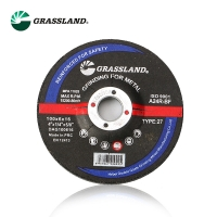 Quality 4 InX1/4 In.X5/8 In. Type 27 Abrasive Metal Grinding Wheel for sale