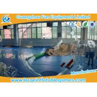 Quality 2m 0.7mm TPU Jumbo Inflatable Water Walking Ball Waterproof for water games for sale