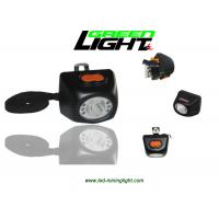 China Small Size LED Miners Cap Lamp 8000LUX 221lum Brightness With Digital Screen on sale
