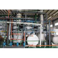 Computerized Tyre Oil To Diesel Plant , Waste Plastic Pyrolysis Plant Energy Saving