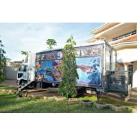 Quality 12 Special Effects Motion 5D Mobile Cinema , Outdoor Mobile Truck Cinema Black 6 Seats for sale