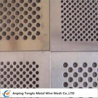 Buy cheap Punching Hole Wire mesh Called Perforated Metal With 60° Hole Arrangement from wholesalers