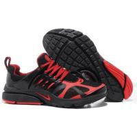 Quality Mens Nike Air Presto 2012 Black Red Running Shoes for sale